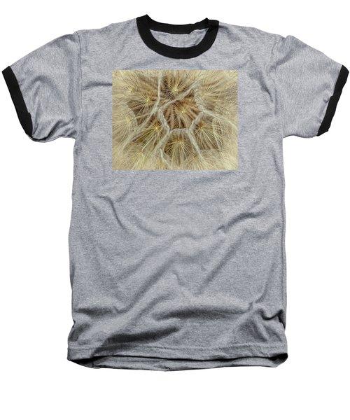 Dandelion Particles Baseball T-Shirt