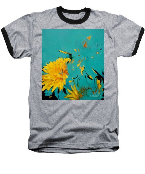 Dandelion Summer Baseball T-Shirt