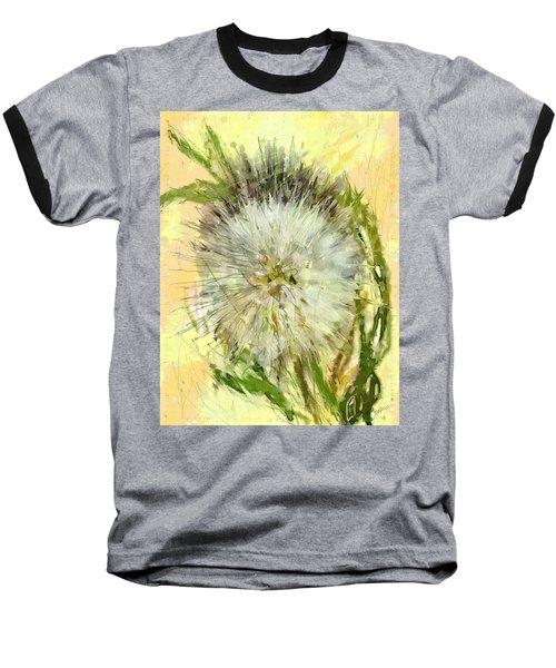 Dandelion Sunshower Baseball T-Shirt