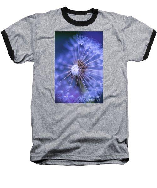 Dandelion Wish Baseball T-Shirt by Alana Ranney