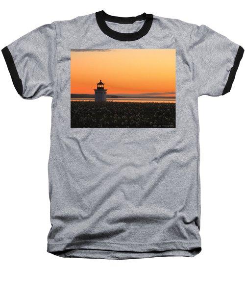 Dandelions At Sunrise Baseball T-Shirt