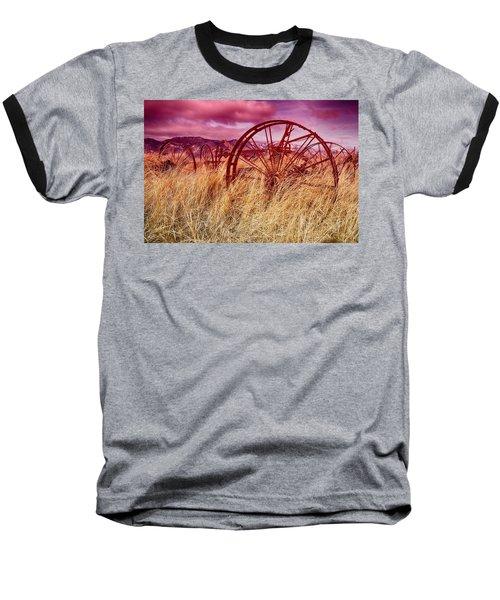 Dangberg Home - Farm Machinery Baseball T-Shirt