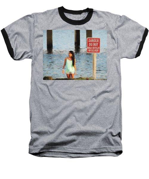 Danger Baseball T-Shirt