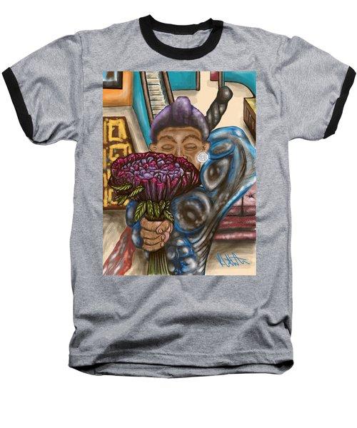 Dangerous Flowers Baseball T-Shirt
