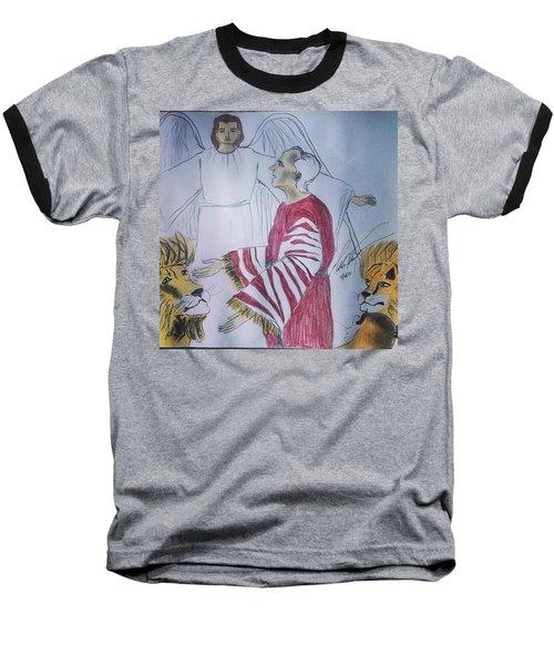 Daniel And Lion's Den Baseball T-Shirt