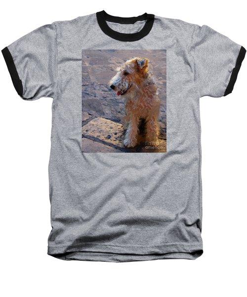 Baseball T-Shirt featuring the photograph Darby by John Kolenberg