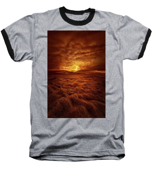Baseball T-Shirt featuring the photograph Dare I Hope by Phil Koch