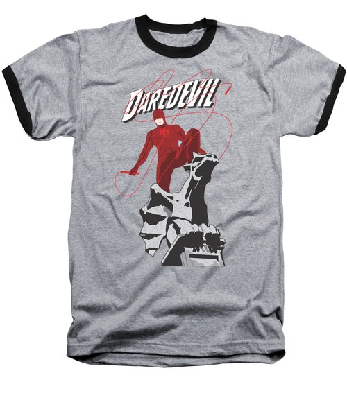 Daredevil Baseball T-Shirt by Troy Arthur Graphics