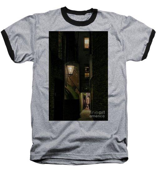 Dark Alley London Baseball T-Shirt