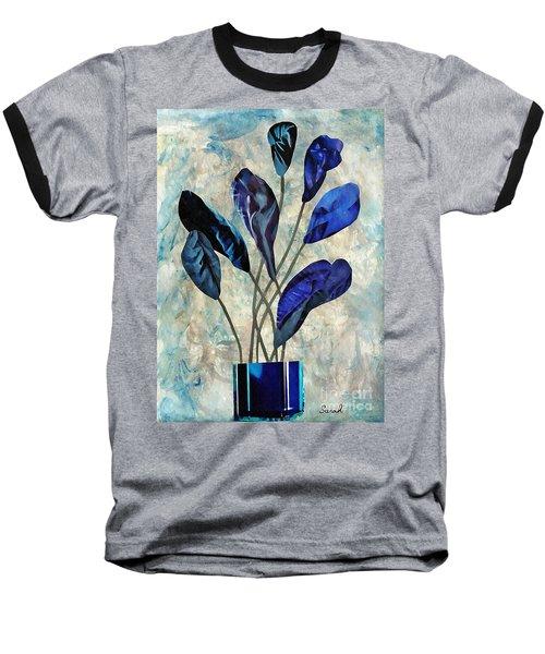 Dark Blue Baseball T-Shirt by Sarah Loft