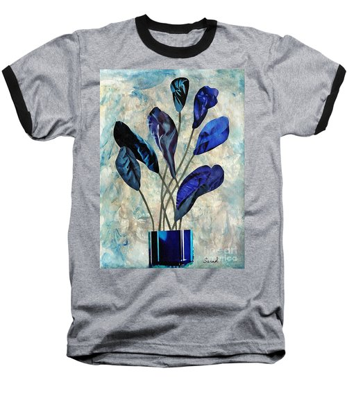 Dark Blue Baseball T-Shirt