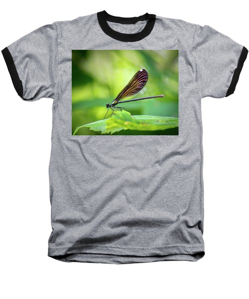 Baseball T-Shirt featuring the photograph Dark Damsel by Bill Pevlor