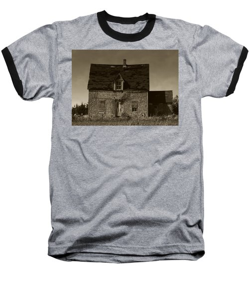 Dark Day On Lonely Street Baseball T-Shirt by RC DeWinter