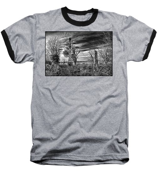 Baseball T-Shirt featuring the photograph Dark Days by Brian Wallace