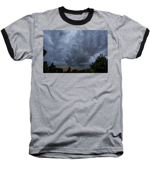 Dark Electric Baseball T-Shirt