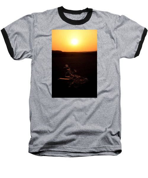 Baseball T-Shirt featuring the photograph dark in the U K by Jez C Self