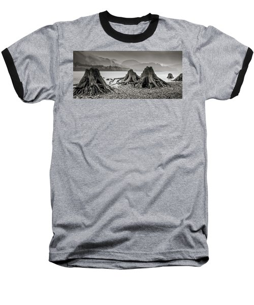 Dark Lake Baseball T-Shirt