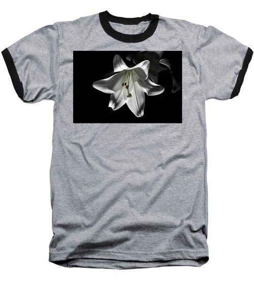 Dark Lilly Baseball T-Shirt