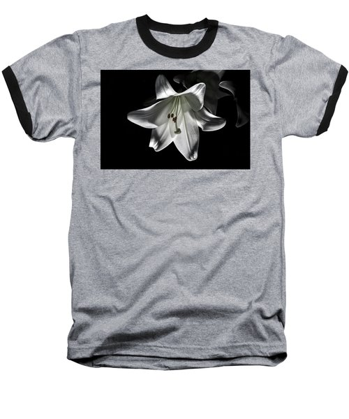 Dark Lilly Baseball T-Shirt