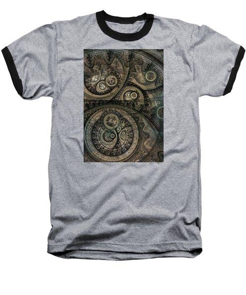 Dark Machine Baseball T-Shirt