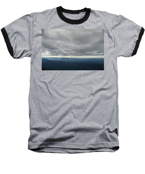 Dark Mountains Baseball T-Shirt
