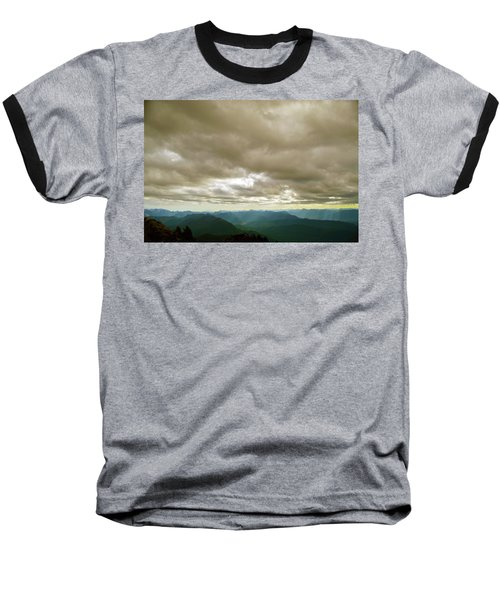 Dark Mountains Too Baseball T-Shirt