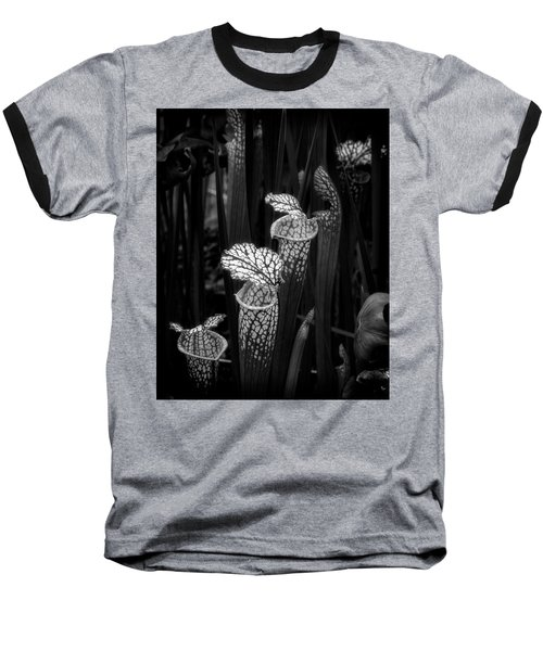 Baseball T-Shirt featuring the photograph Dark Pitchers by Alan Raasch
