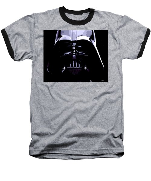 Dark Side Baseball T-Shirt by George Pedro