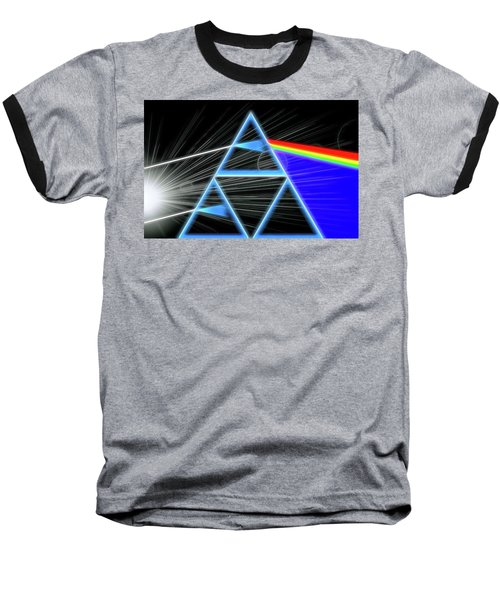 Baseball T-Shirt featuring the digital art Dark Side Of The Moon by Dan Sproul