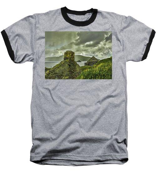 Dark Sky #g0 Baseball T-Shirt by Leif Sohlman