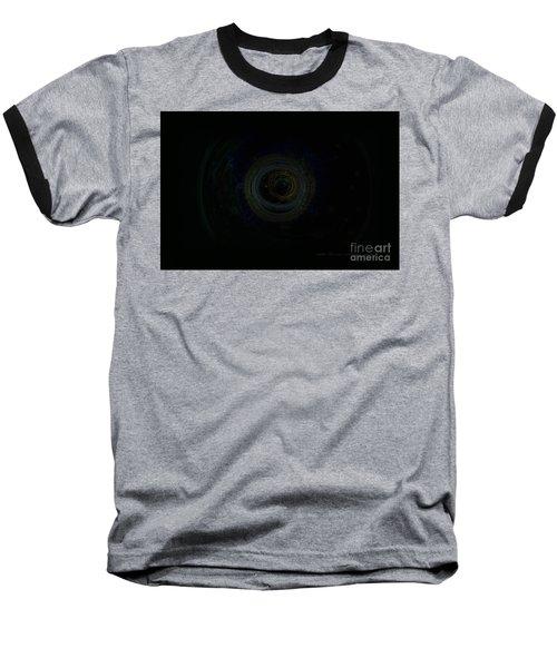 Baseball T-Shirt featuring the digital art Dark Spaces by Vicki Ferrari