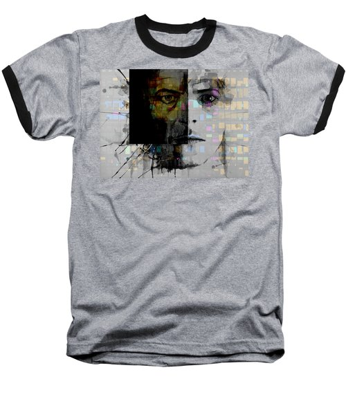 Baseball T-Shirt featuring the painting Dark Star by Paul Lovering