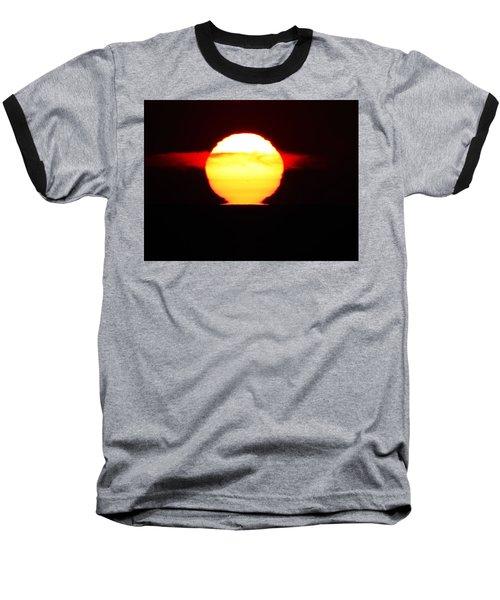 Dark Sunrise Baseball T-Shirt