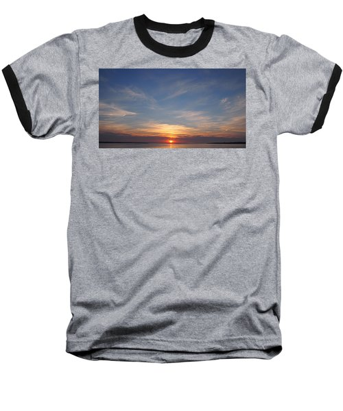 Dark Sunrise Baseball T-Shirt