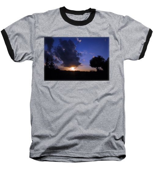 Dark Sunset T-shirt 2 Baseball T-Shirt