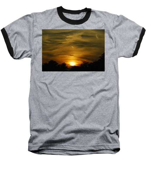 Dark Sunset Baseball T-Shirt