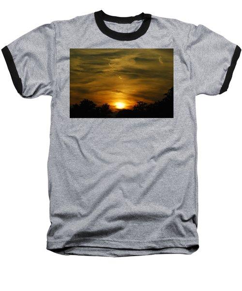 Dark Sunset Baseball T-Shirt