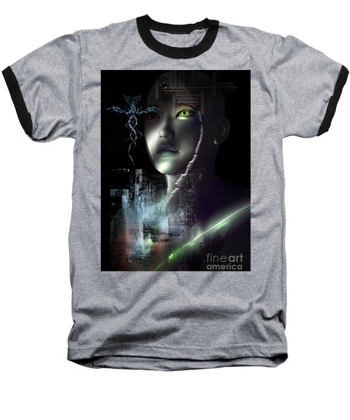 Dark Visions Baseball T-Shirt
