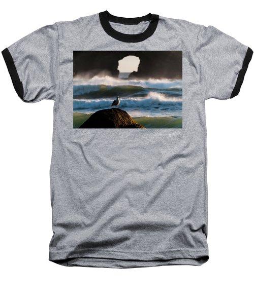 Darkening Deep Baseball T-Shirt