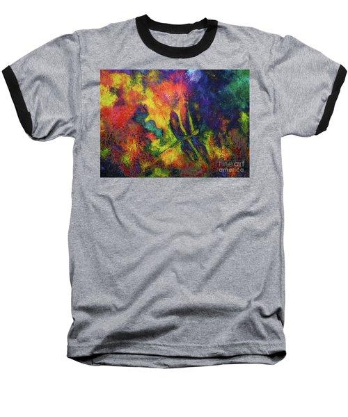 Darling Darker Dragonfly Baseball T-Shirt