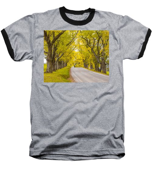 Darling Hill Autumn Baseball T-Shirt