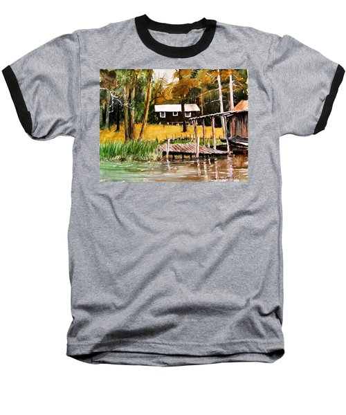 Darrells Hideout Baseball T-Shirt