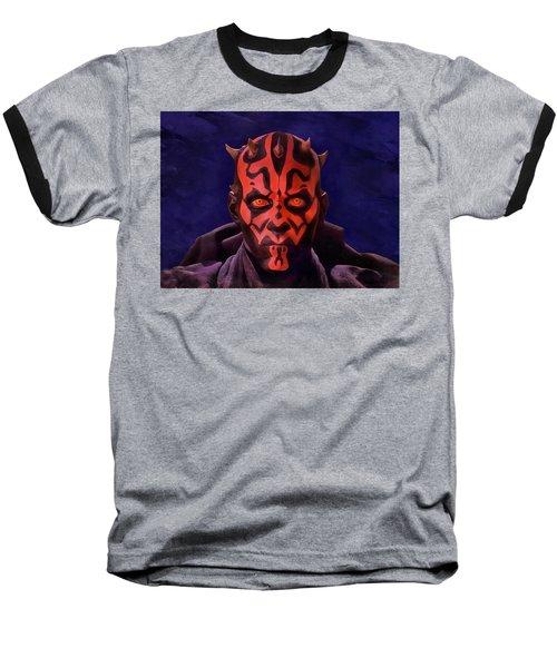 Darth Maul Dark Lord Of The Sith Baseball T-Shirt