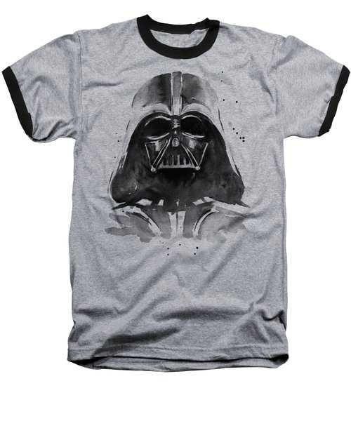 Darth Vader Watercolor Baseball T-Shirt