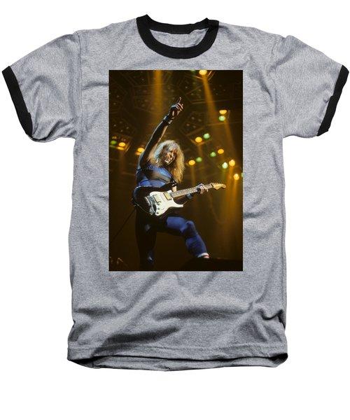 Dave Murray Of Iron Maiden Baseball T-Shirt