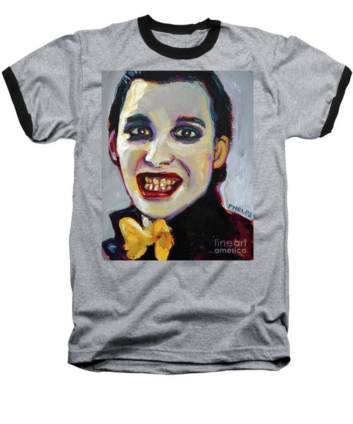 Dave Vanian Of The Damned Baseball T-Shirt