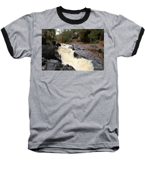 Baseball T-Shirt featuring the photograph Dave's Falls #7284 by Mark J Seefeldt
