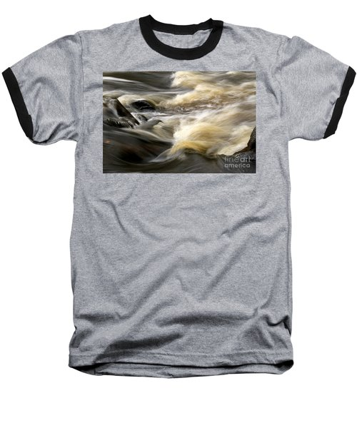 Baseball T-Shirt featuring the photograph Dave's Falls #7431 by Mark J Seefeldt