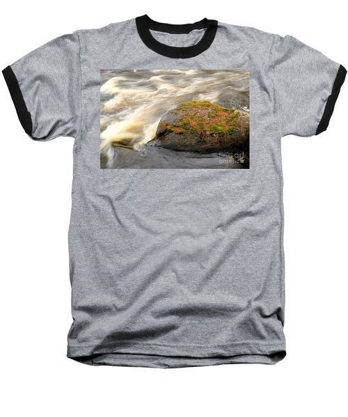 Baseball T-Shirt featuring the photograph Dave's Falls #7442 by Mark J Seefeldt