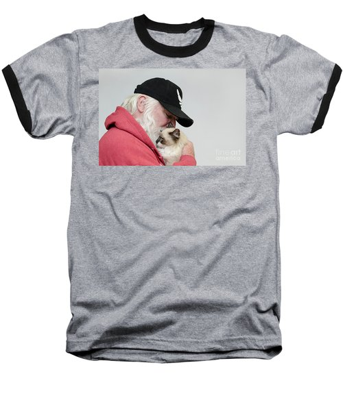 David And Mr Atkin Baseball T-Shirt